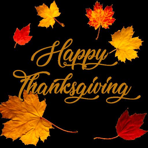 happy thanksgiving leafs art