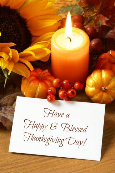 blessed thanksgiving day message