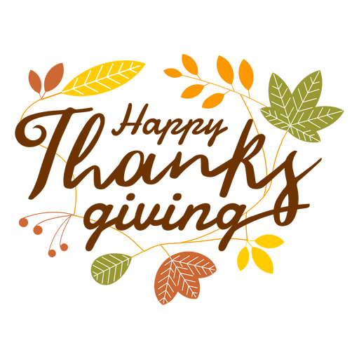 thanksgiving leafs clip art