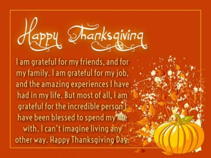 thanksgiving wishing message to family members