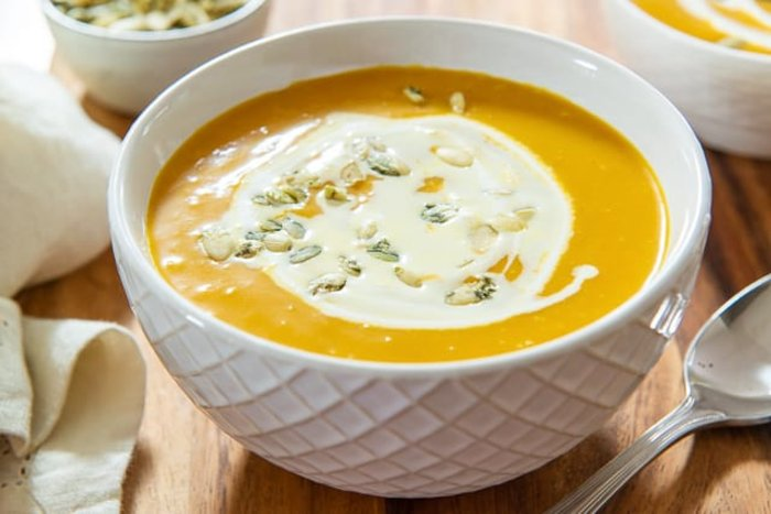 Butternut Squash Soup- easy thanksgiving recipes