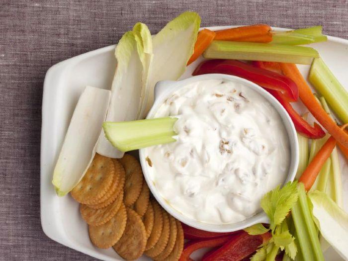 Onion Dip - vegan thanksgiving recipes 2020