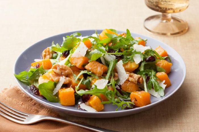 Roasted Butternut Squash with Cider Vinaigrette- thanksgiving vegan dish