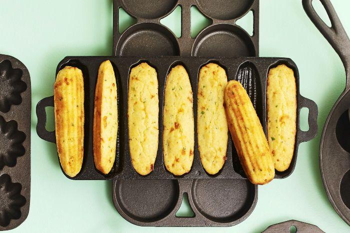 Scallion Cornbread - thanksgiving side dishes make ahead
