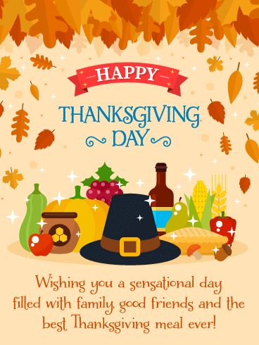 Wishing you a sensational happy thanksgiving day pic