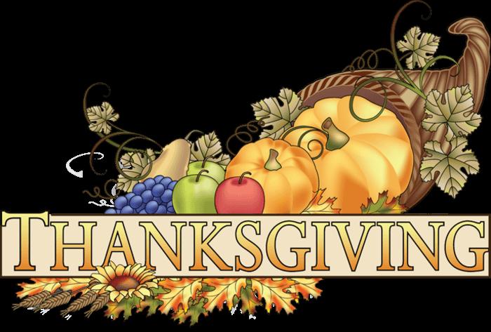 clip art thanksgiving- transparent