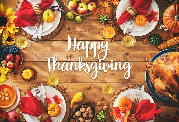 free thanksgiving wishing image