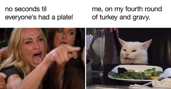 hilarious funny thanksgiving memes