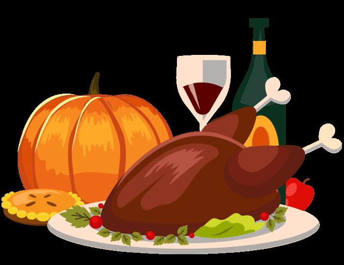 thanksgiving-clip-art-turkey dinner